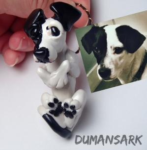 Custom Dog Portrait Ornament