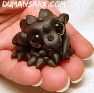 Baby Dragon Sculpture