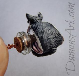 Itty Bitty Sugar Glider Sculpture
